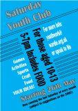 New! Saturday Youth Club