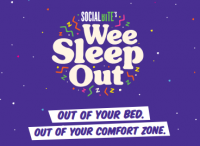 You can still support our Wee Sleep Out!